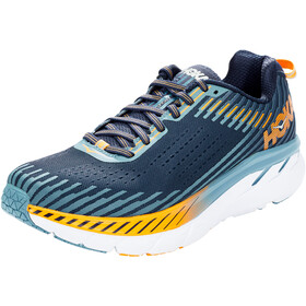 Hoka One One Clifton 5 Running Shoes Herre black iris/storm blue
